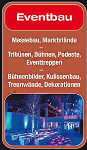 Standbeine - Eventbau